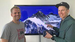 Mount Everest auf der HTC Vive