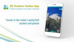 RealityMaps App in neuem Design