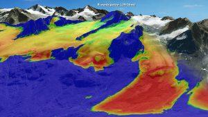 Gletscherrückgang im Ötztal