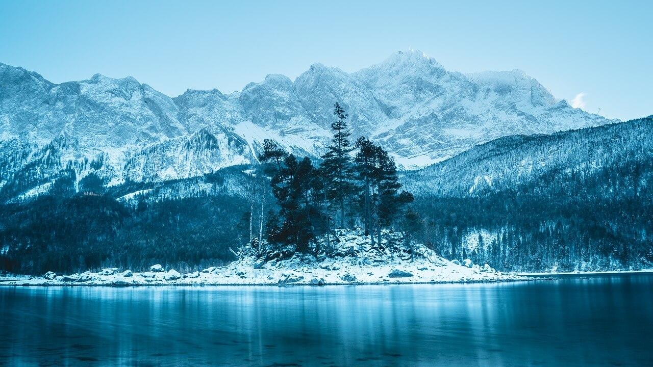 Eibsee Winterwanderung