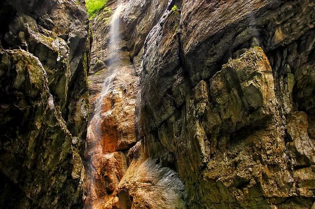 Partnachklamm Wasserfall