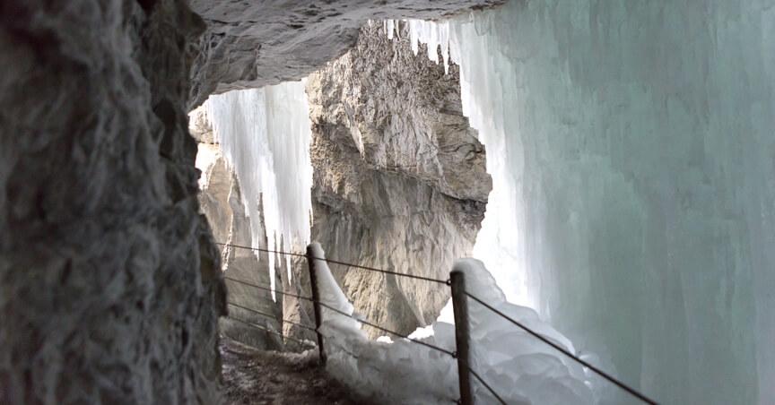 Partnachklamm Winter