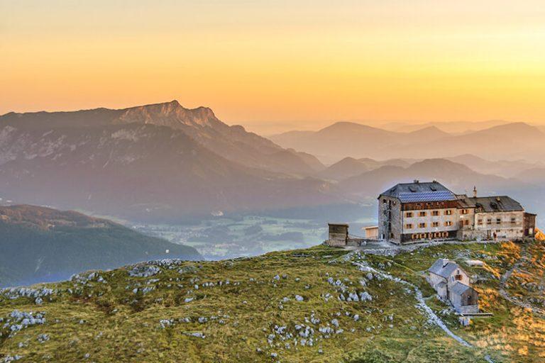 Watzmannhaus und Untersberg