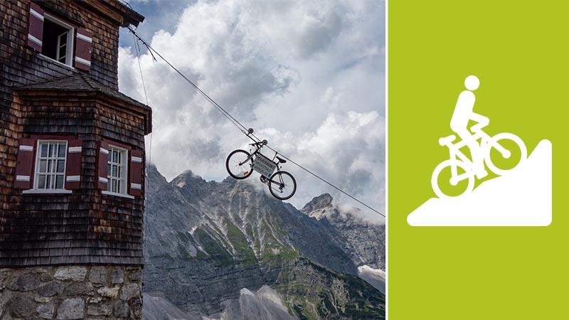Mountainbiketouren in 3D