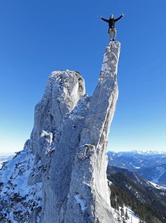Klettern Kampenwand