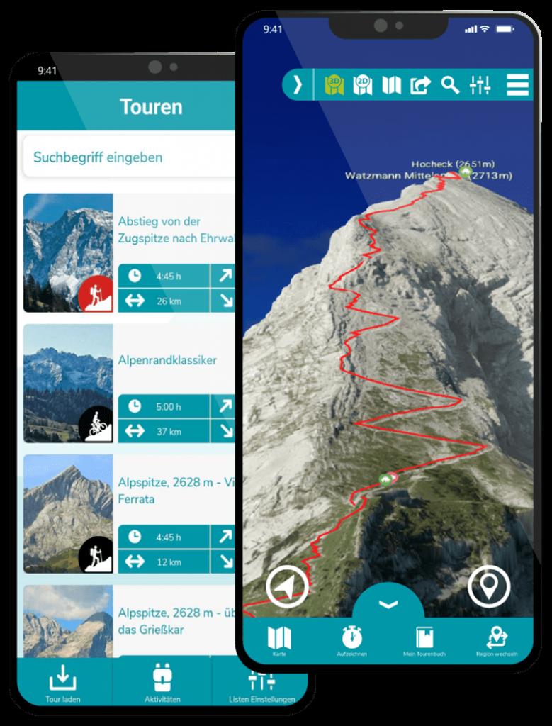 Bergtour Watzmann Handy