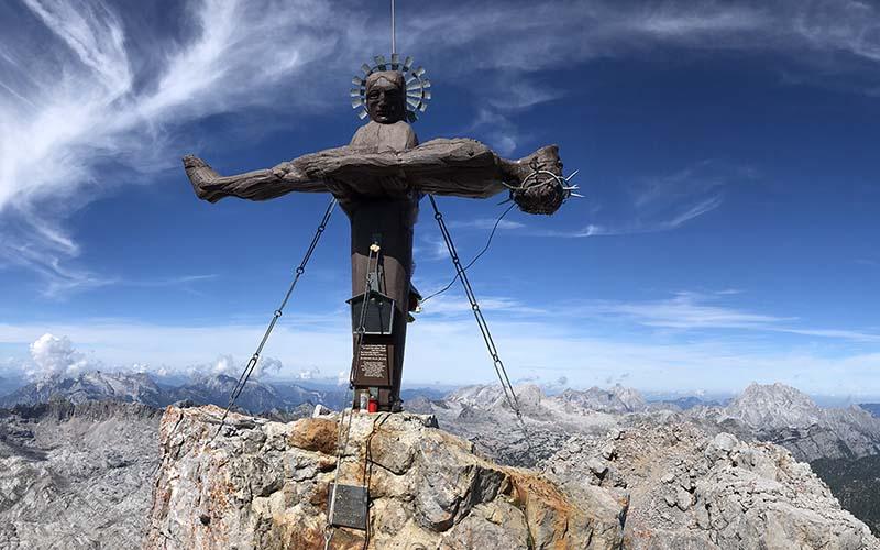 Am Gipfel der Schönfeldspitze