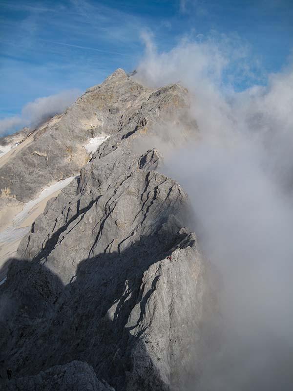 Jubiläumsgrat an der Zugspitze