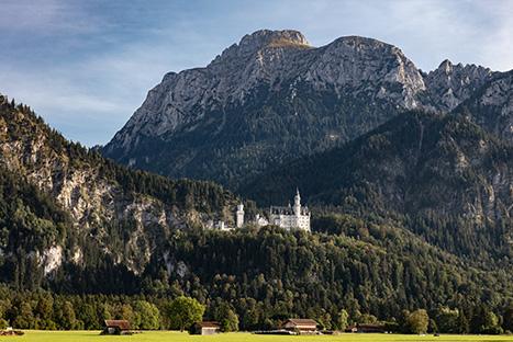 Säuling und Schloss Neuschwanstein